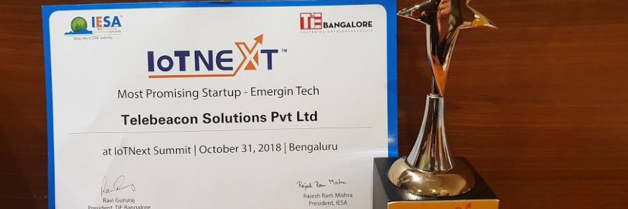 IoTNext 2018 Emerging Tech
